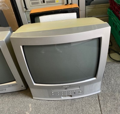 Fully working colour Alba TV with DVD player