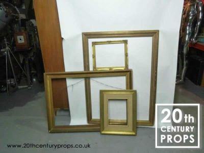 2 Large Gilded Picture Frames