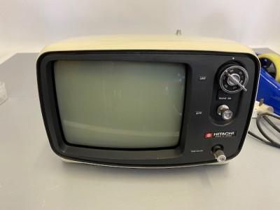 Fully working black & white Hitachi TV