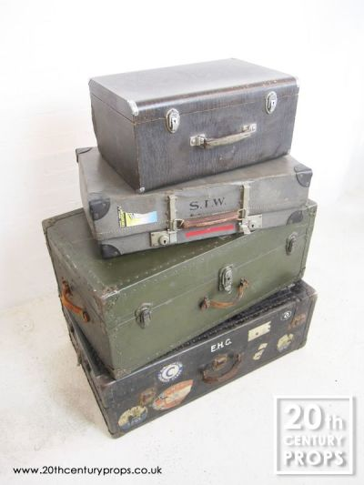 VIntage travel trunks & cases