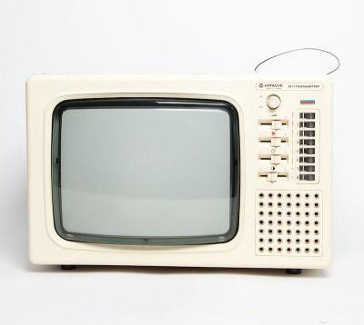 Non practical Hitachi Transistor TV