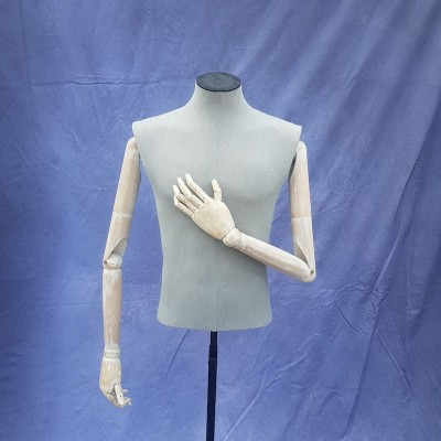 Male tailors torso with articulated arms