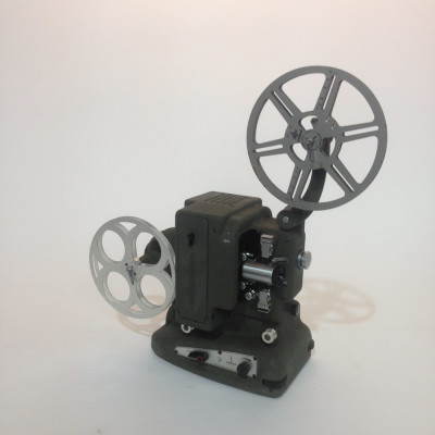 Dark Grey Bolex 8mm Film Projector