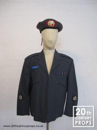 Vintage RAF jacket & beret