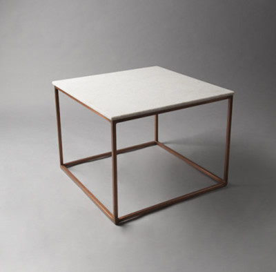 White Marble Top Table