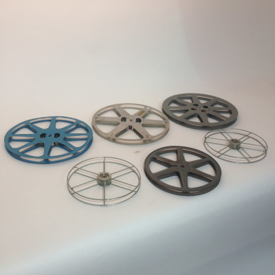 Medium 8mm and 16mm Film Reels