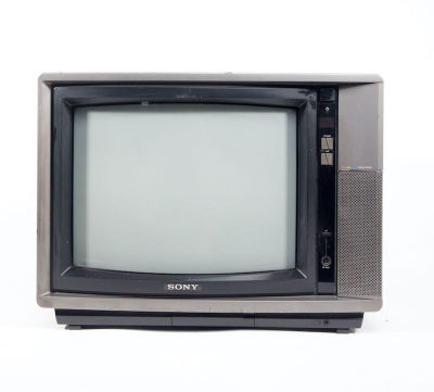 Fully working Sony Trinitron vintage colour TV