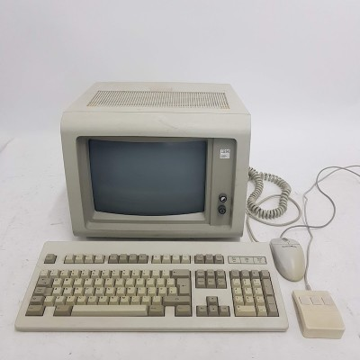 IBM monitor with keyboard & mouse
