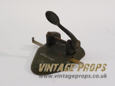 Vintage hole punch