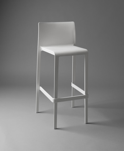 White Lean Stool