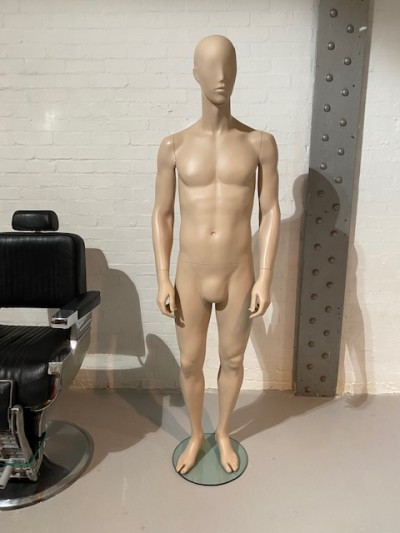 Full bodied male mannequin
