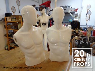 Male torso mannequins