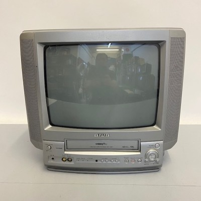 Fully working colour Aiwa TV with VHS player