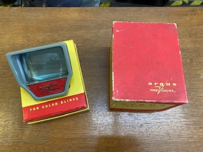 Argus PreViewer Vintage Slide Viewer with box