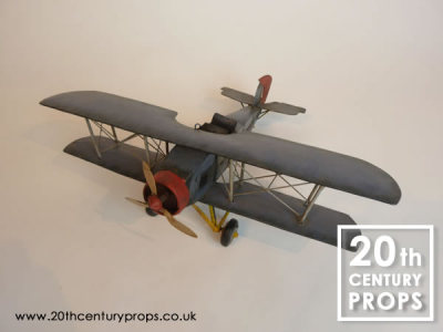 Toy tin aeroplane