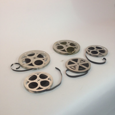 Small 16mm and 8mm Film Reels