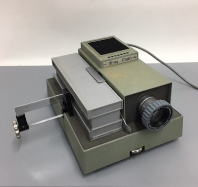 Working Wray Moth film projector