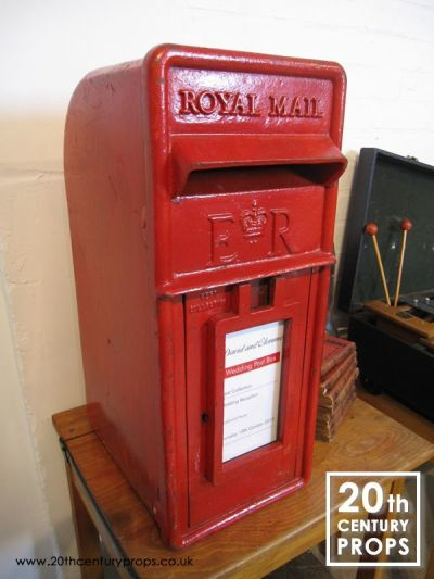 Royal Mail cast iron post box