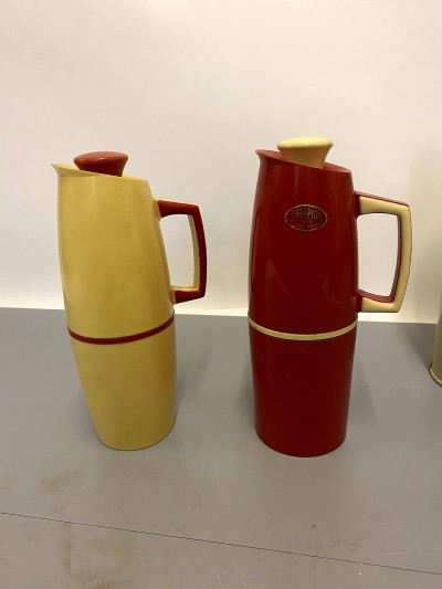 1960's thermos flasks