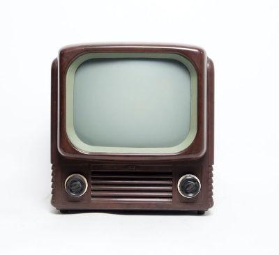 Non practical vintage Bush TV