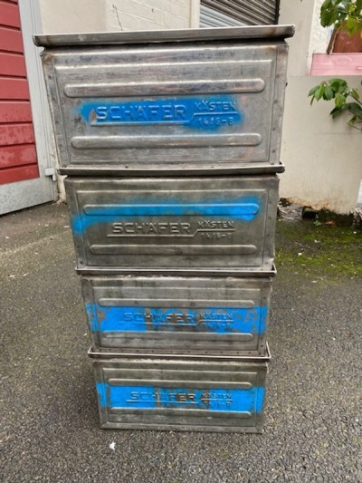 Stainless Steel Stacking Crates