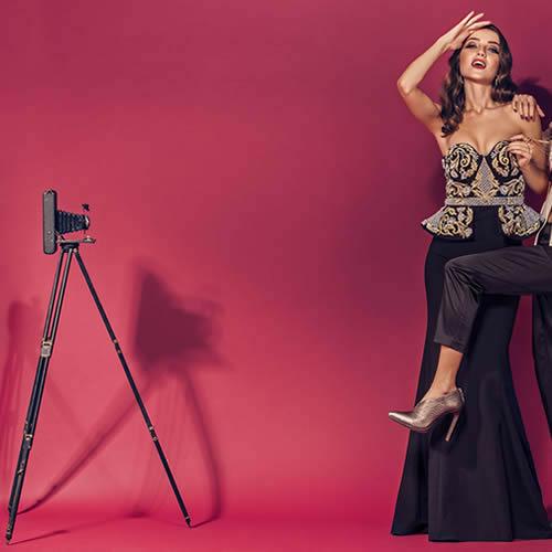 Elegant Magazine Photo Shoot - Camera Props