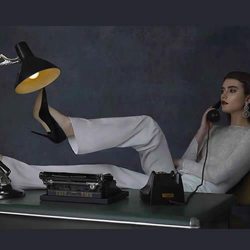 Premier Models Photo Shoot - Vintage Props