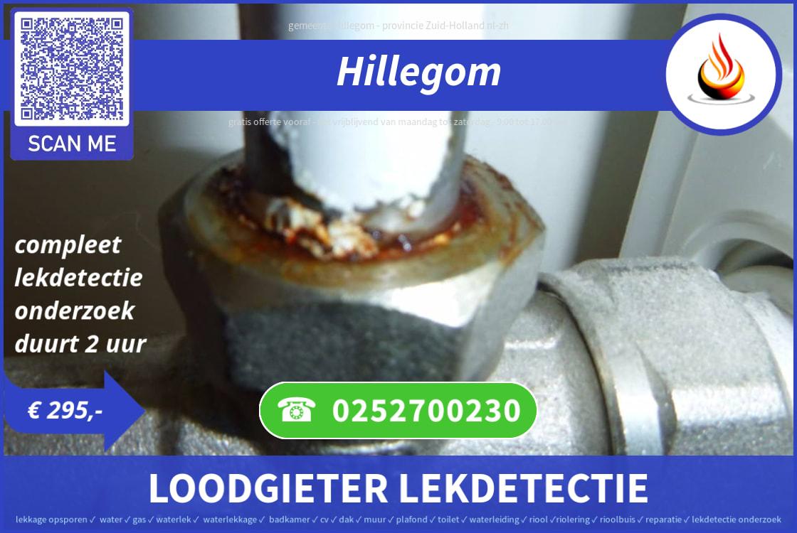Waterlekkage Opsporen Hillegom 295 0252700230