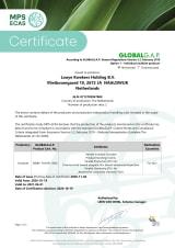 Global Gap certificaat