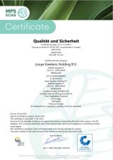 QS Certificaat