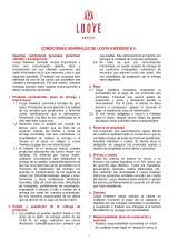 Algemene voorwaarden Spaans