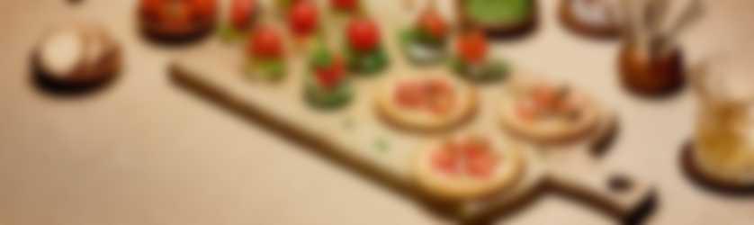 borrelplank tomaat