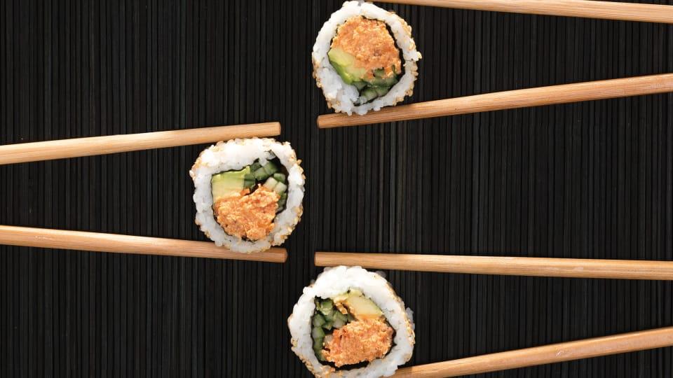 Honingtomaten-sushi