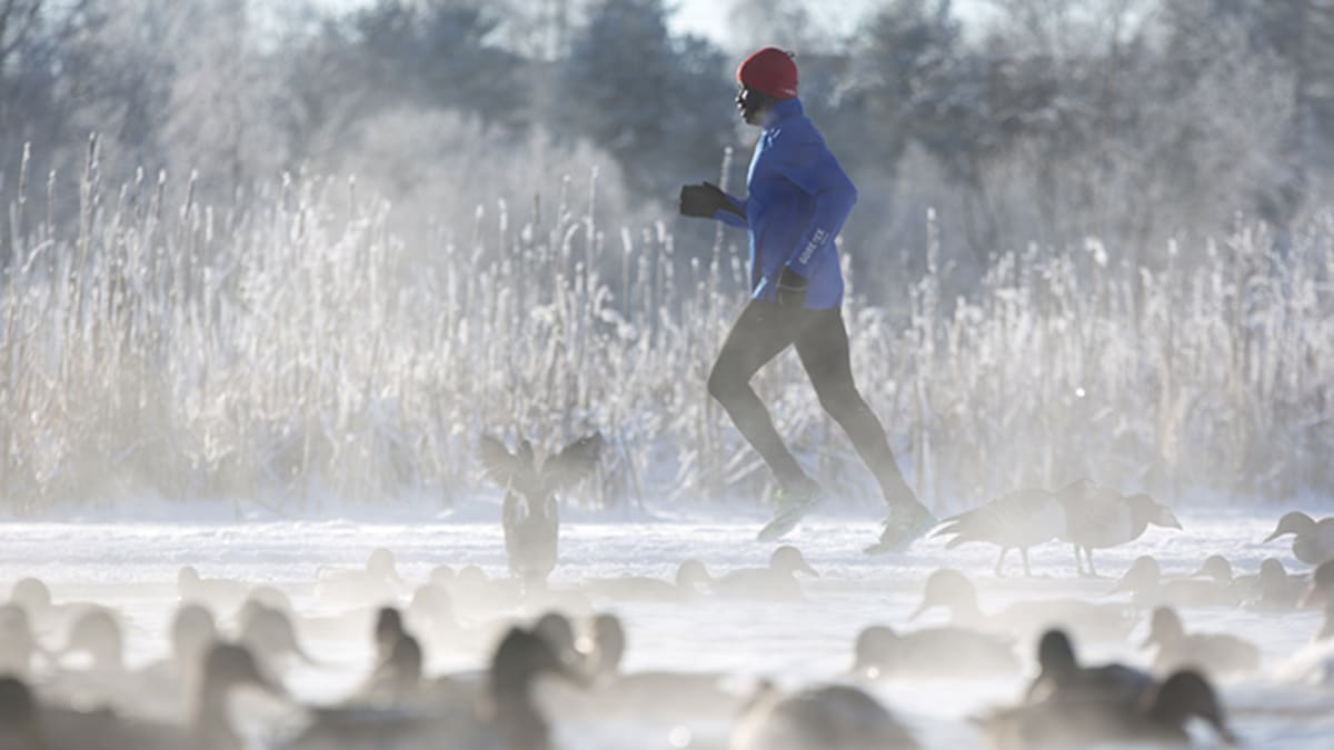 Løp ute hele vinteren