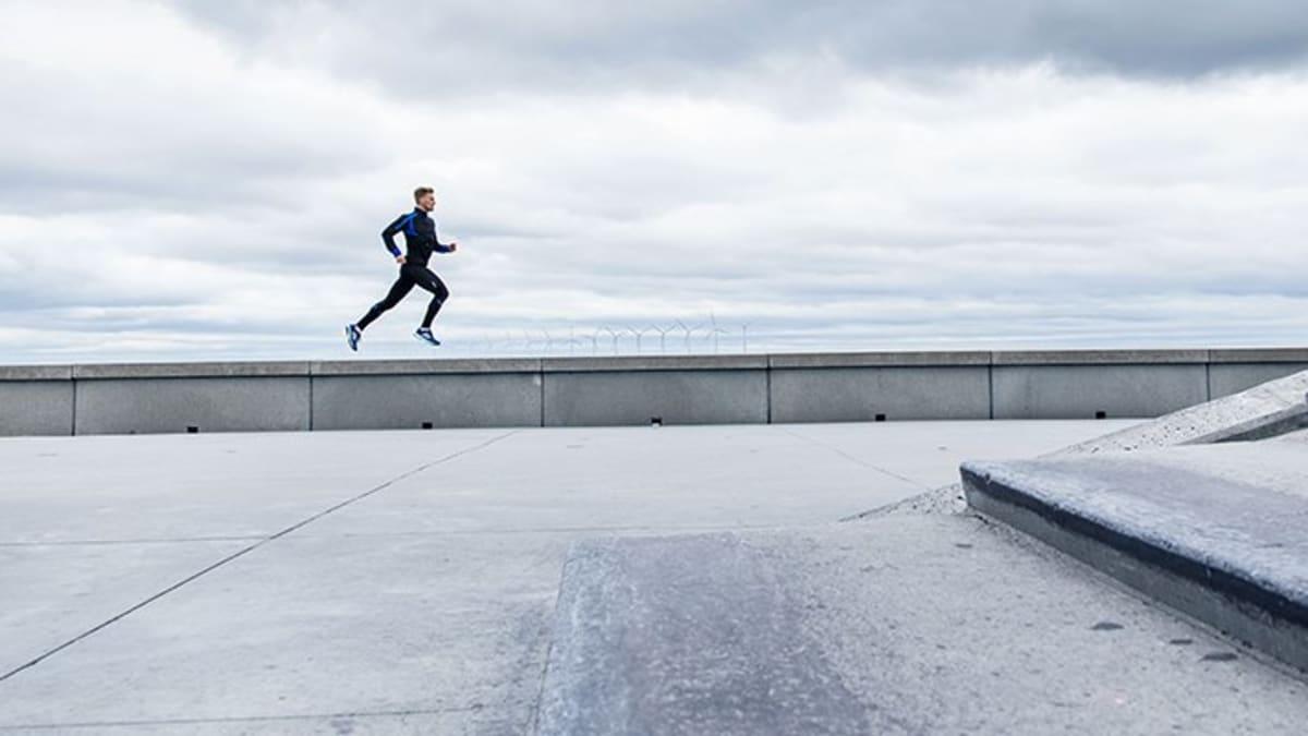 Løp om vinteren