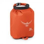 Osprey Ultralight Dry Sack 3L, oransje.
