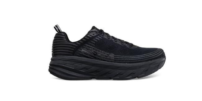 Hoka One One Bondi 6 Running Shoes Herre black