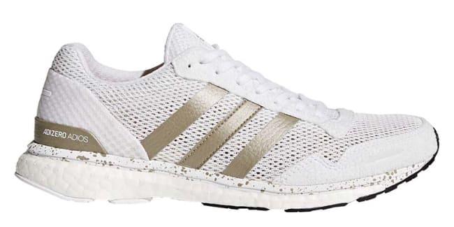 Grey Running – Adidas Adizero Adios 3 Aktiv Shoes Mens Grey