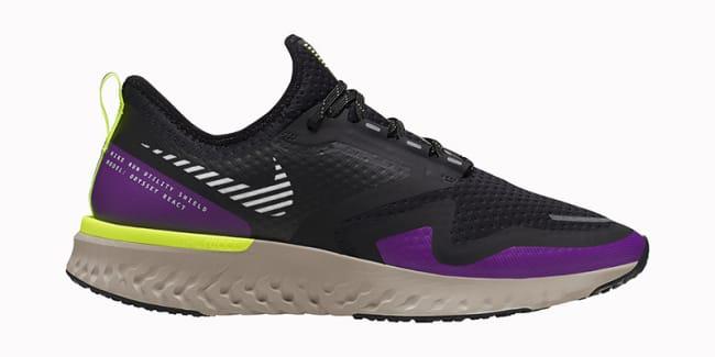 Nike Odyssey React 2 Shield, dame Löplabbet