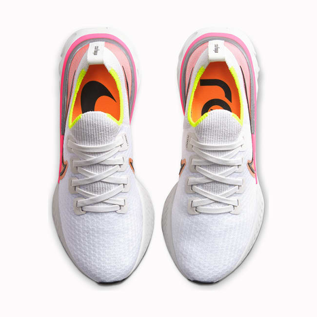 Nike React Infinity Run Flyknit, dame Löplabbet