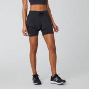 New Balance Impact Run 2-i-1-shorts, dame.