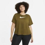 Nike Swoosh Run t-skjorte, dame plus size.