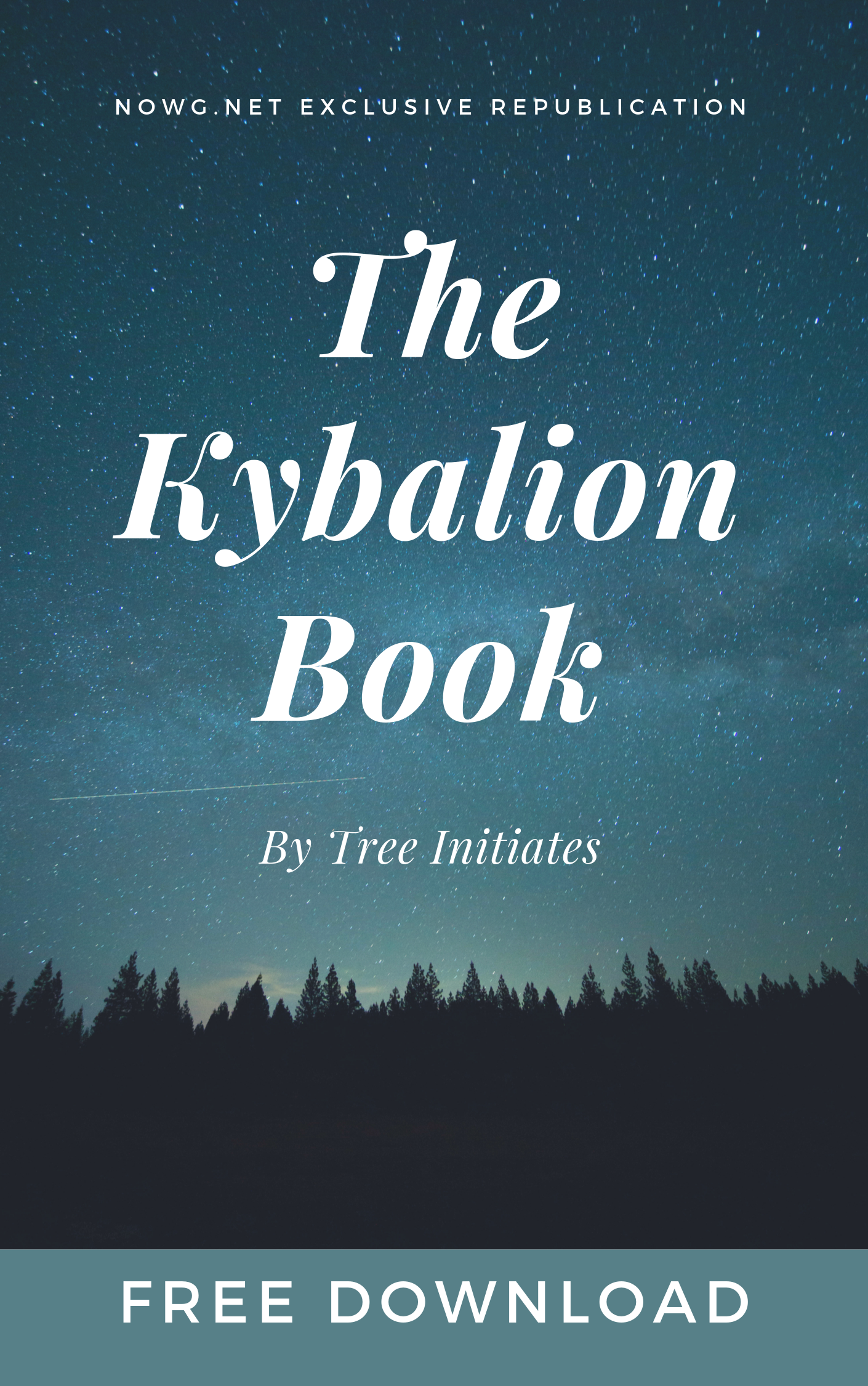 The Kybalion by tree initiates free download ebook