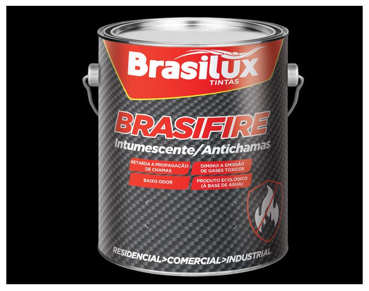 Tinta Brasifire retarda propagação do fogo