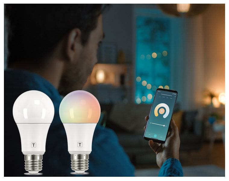 Nova lâmpada Tramontina SmartLED