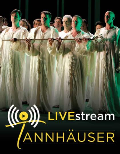Artwork for Tannhauser Live Broadcast