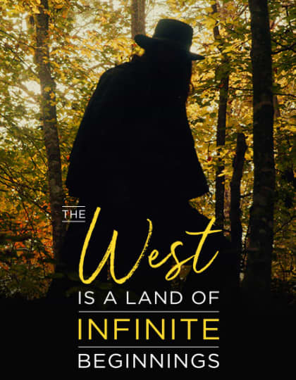 Artwork for The West is a Land of Infinite Beginnings