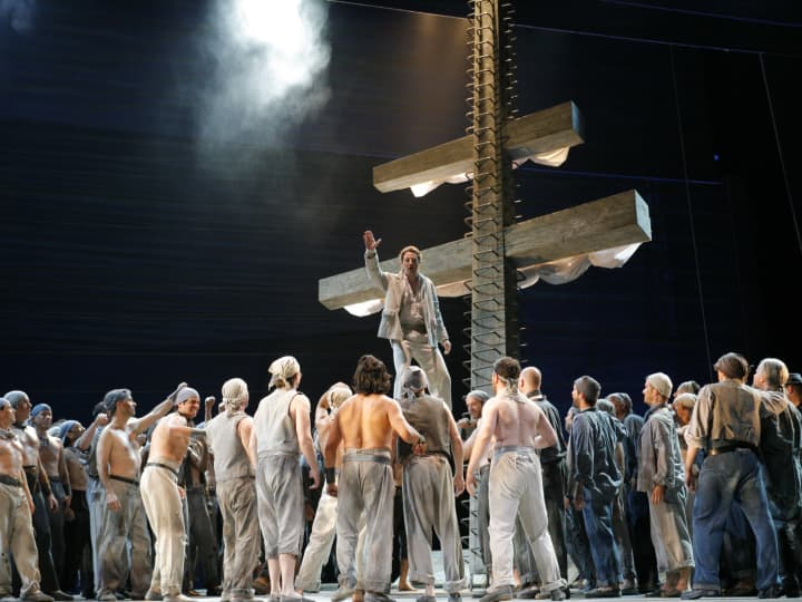 Artwork for James Conlon on Benjamin Britten's Billy Budd