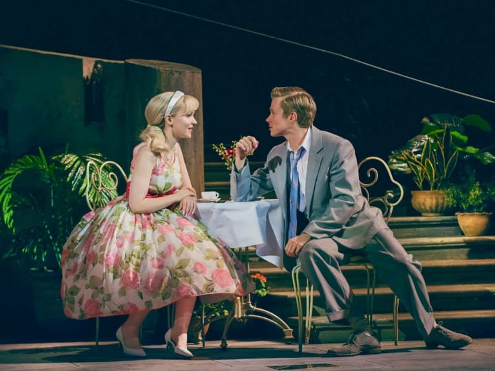 Artwork for The Light in the Piazza Scene-By-Scene by Brian Stokes Mitchell