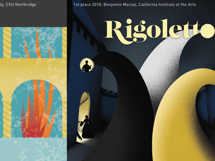 Artwork for College Students: Design Art for LA Opera